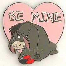 Eeyore from Winnie the Pooh BE MINE Valentine Disney LE Auction On carcd... - $75.00