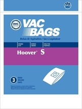 DVC Hoover Style S Vacuum Cleaner Bags Made in USA [ 6 Bags ] - $8.78