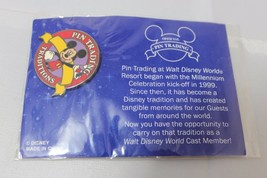 Disney Park Official Pin Trading Traditions Mickey Yellow Ribbin Mickey 1999 - $12.36