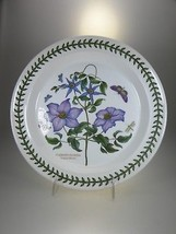 Portmeirion Botanic Garden Dinner Plate Virgins Bower (OLDER BACK STAMP) - $30.81