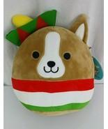 Squishmallows Stuffed Plush Gustavo Chihuahua Dog Cinco De Mayo Fiesta T... - $33.65
