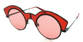 Alain Mikli Sunglasses A04009 005/84 48-26-140 La Nuit Matte Black Red /... - $85.36