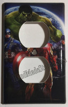 Comics Heroes iron-man Hulk Light Switch Outlet Toggle Wall Cover Plate Home dec image 2