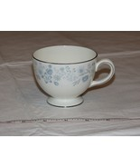 Wedgwood Belle Fleur Bone China 1 Tea Cup Made in England white blue ! - $39.59