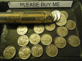 1977 Jefferson Nickel Roll >> C/S & H - $5.94