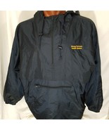 URMC Strong Partners Health System UofR Pullover Hooded Rain Jacket Size... - $29.55