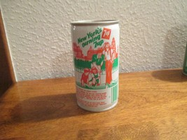 New York NY Turning 7up vintage pop soda metal can Sight Seeing - $10.99