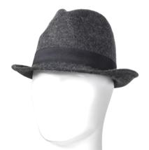 NEW Goodfellow & Co Men's Dark Grey 100% Wool Fedora M/l or L/XL image 1