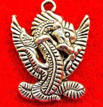 50Pcs. Wholesale Tibetan Silver Dragon Charms Pendants Earring Drops Q12... - $45.99