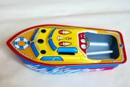 "Vintage Tin Toy New Japan Steam Pop Pop / Pon Pon Boat Ship 5"" Made in J... - $15.79"