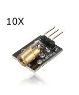 10Pcs KY-008 Laser Transmitter Module For Arduino AVR PIC - $13.49