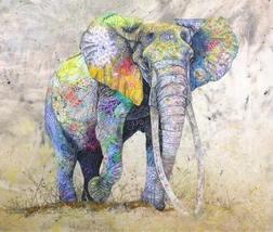 ELEPHANT (E) CROSS STITCH KIT - $35.00