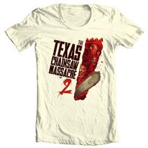 Texas Chainsaw Massacre 2 T-shirt retro classic horror movie free shipping image 2