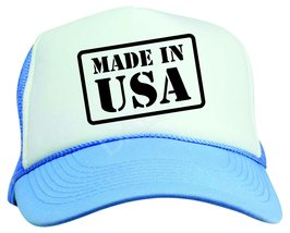 Made in The USA Neon Color Trucker Snapback Baseball Cap  Vacation - $12.95