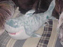 "20"" Disney Store Bruce The Shark Plush Toy Finding Nemo - $24.74"