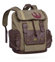 Rebel Canvas & Vegan Leather Backpack * FREE SH... - $103.94