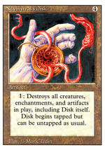 Magic: The Gathering 3rd Edition - Nevinyrral's Disk - $1.95