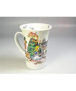 Christmas Mug Alice in Wonderland Christmas Tea party Coffee Cup Paul Ca... - $40.61