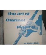 Art of Clarinet - Stein - $8.50