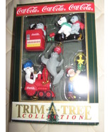 Coca-Cola Christmass tree ornament set - $16.00