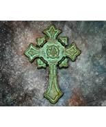 Vertigris Celtic Styled Ornate Inspirational Cross Frig Magn - $4.49