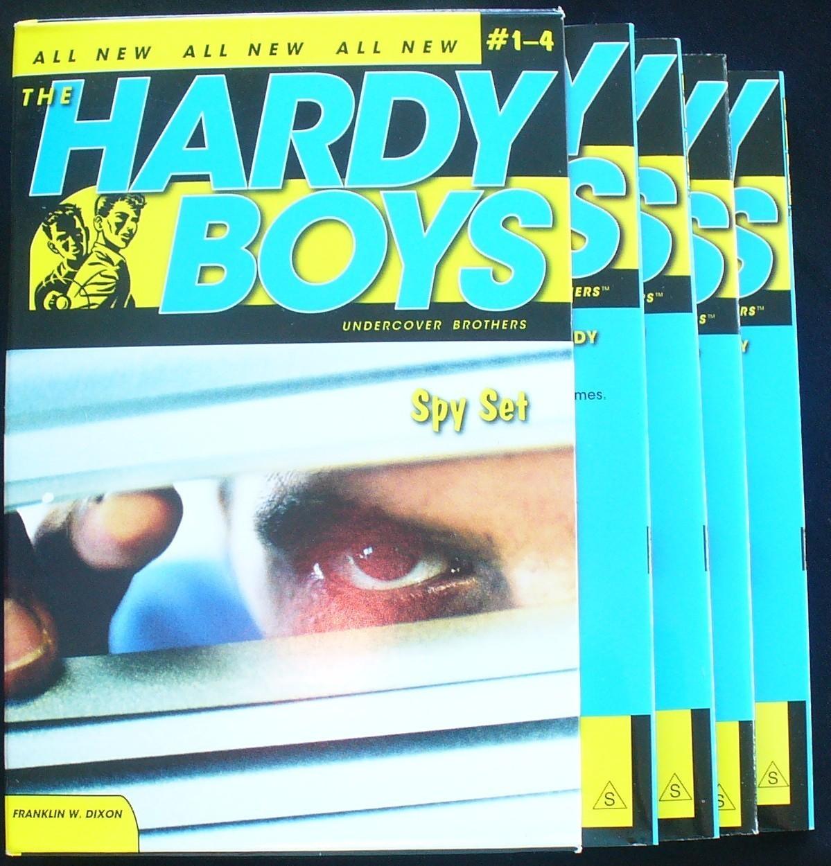 Set of 11 Hardy Boys Mysteries 1959-1961