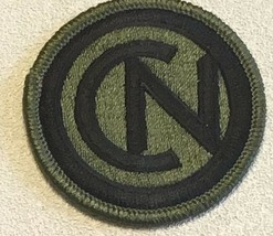 Us Army 102TH Infantry Division Cn Subdued Patch 3 In Dia #2571 - $9.89