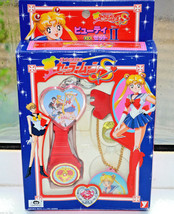 Sailor Moon vintage Japanese Beauty set toy watch necklace ring key chain - $69.29