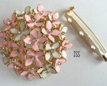 Jss pink and white blossom brooch 1 thumb155 crop
