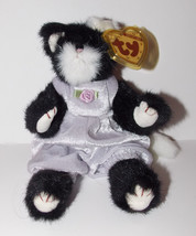 Ty Attic Treasures Purrcy Plush 9in Cat Stuffed Animal Retired with Tag ... - $9.99