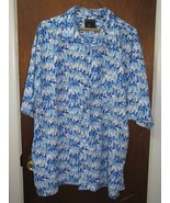 Men's Address Unknown Short Sleeve Camp Shirt Size XL  - $16.44