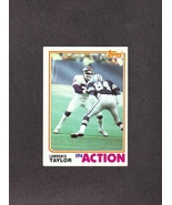 1982 Topps # 435 Lawrence Taylor New York Giants - $2.99