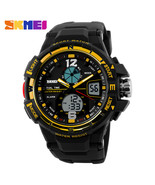 2019 SKMEI G Style Fashion Digital-Watch Mens Sports Watches Army Milita... - $32.36