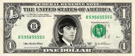 GEORGE HARRISON - Real Dollar Bill Beatles Cash Money Collectible Memorabilia  - $7.77