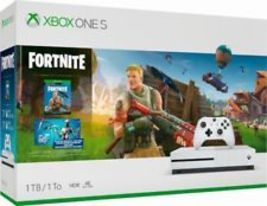 Microsoft Xbox One S 1TB Fortnite Console Bundle with 4K Ultra HD Blu-Ray - $399.97