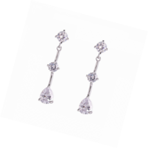 Austrian Crystal Rhinestone Bridal Wedding Jewelry Set Necklace and Earr... - $21.82