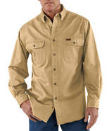3xl regular CARHARTT SANDSTONE TWILL WORK SHIRT STYLE S09 STRAW SIZE 3xl... - $35.99