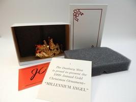 Danbury Mint Annual Millennium Angel 1999 Christmas Ornament New Condition - $24.74