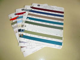 1968 Ford ACME Color Chip Paint Sample - $9.74