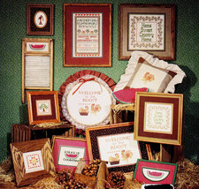 CROSS STITCH COUNTRY CORNBREAD BY SUE HILLIS - $3.95