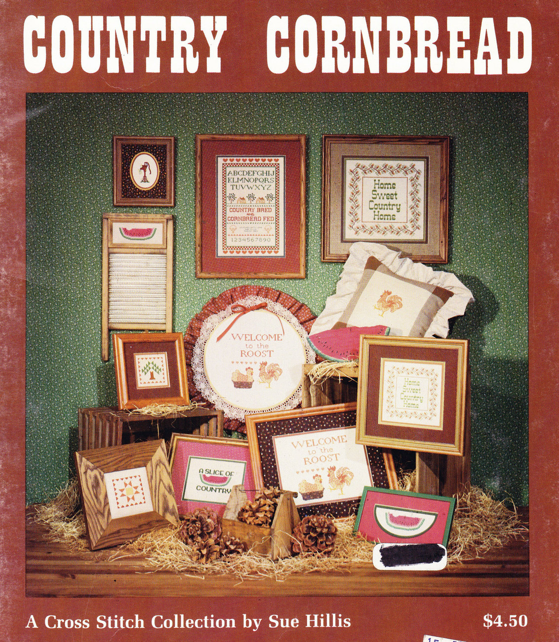 CROSS STITCH COUNTRY CORNBREAD BY SUE HILLIS