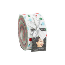 "Moda HOLIDAY ESSENTIALS CHRISTMAS 40 2.5"" Quilt Fabric Strips 20740JR Je... - $39.59"