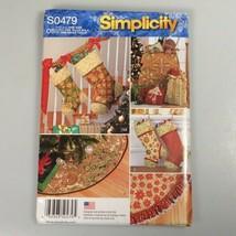 Christmas tree skirt sewing pattern DIY Christmas stockings and fabric bags - $14.99