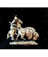 Vintage Goebel The Plainsmen Miniature #660-BO - NOS - $24.75