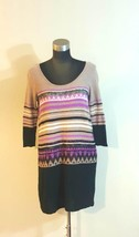 Free People Urban Outfitters Layered Dress Size Medium Wmns Taupe Black ... - $50.00