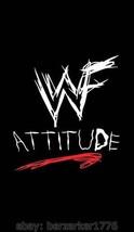 WWF World Wrestling Federation Attitude 3'x5' vertical flag banner WCW, WWF, WWE - $25.00