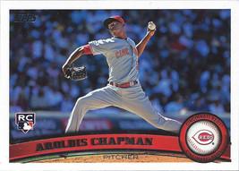 2011 Topps #110 Aroldis Chapman RC Rookie Card > Cincinnati Reds - $0.99