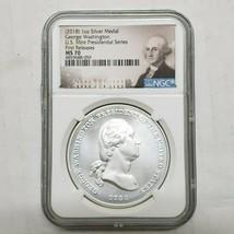 2018 George Washington Silver Presidential Series Medal MS70 Coin SKU C2