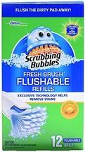 Scrubbing Bubbles 12 Fresh Brush Refill Boxed - $19.26
