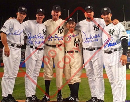 8.5x11 Autographed Signed Reprint Photo New York Yankees Perfect Game - $12.90
